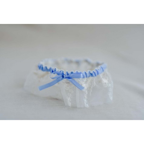 Dainty Embroided Garter