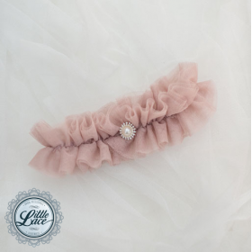 Little Lace: Tulle Garter