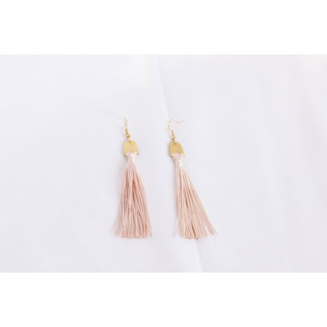 Tassels with brass top