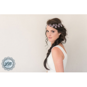 Little Lace Silver Forest Hair Piece