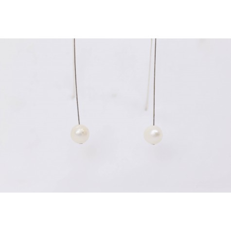 Little Lace Freshwater Pearl Earrings