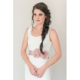 Little Lace Sash - Julia Flower Sash
