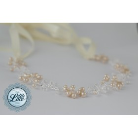 Little Lace Jane Pearl Hair Piece