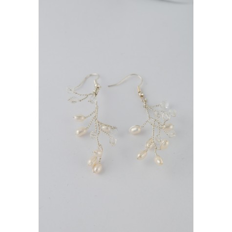 Little Lace Forest Earrings