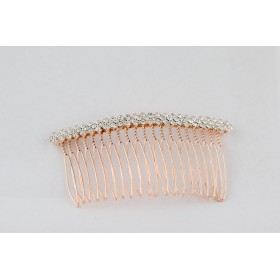 Little Lace Diamante Hair Comb