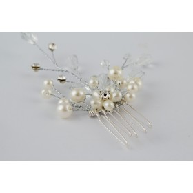 Little Lace Lilly Pearl Hair Comb