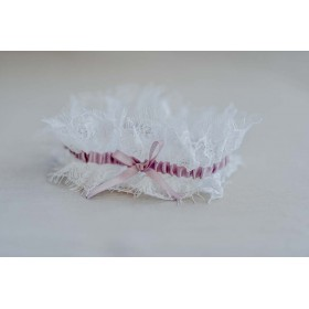 Little Lace White Vintage French Lace Garter