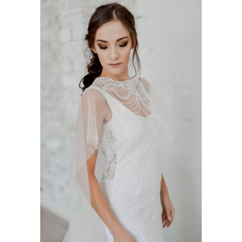 Alexandra Shoulder Veil