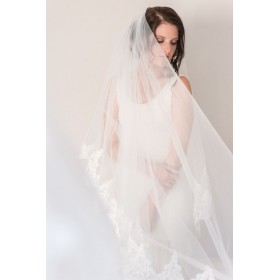 Little Lace Long Length Veil
