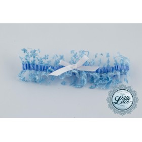 Little Lace Vintage Blue Lace Garter