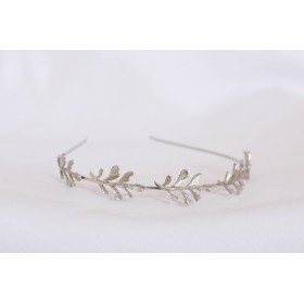 Little Lace Claire Leaf Alice Band